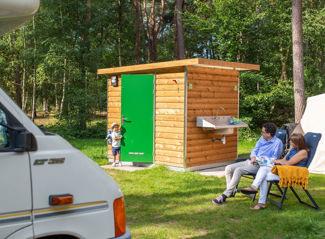 RCN het Grote Bos | Camperplaats met privé sanitair