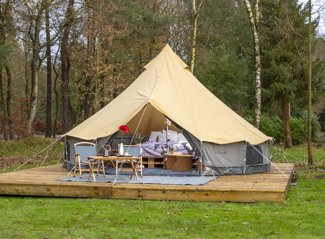 Glampingtent Koolmees