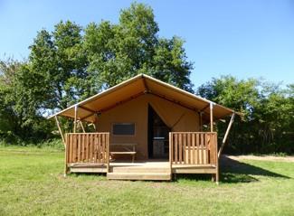 Safari tent Mouette