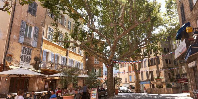 In de paradijselijke Provence