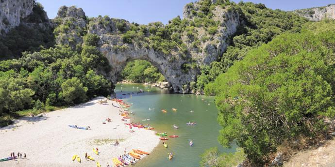Vakantiepark in de Ardèche