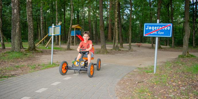 Kindvriendelijke camping Veluwe