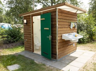 RCN de Roggeberg | Camping pitch with private facilities