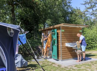 RCN het Grote Bos | Stellplatz Camper mit Privatsanitair