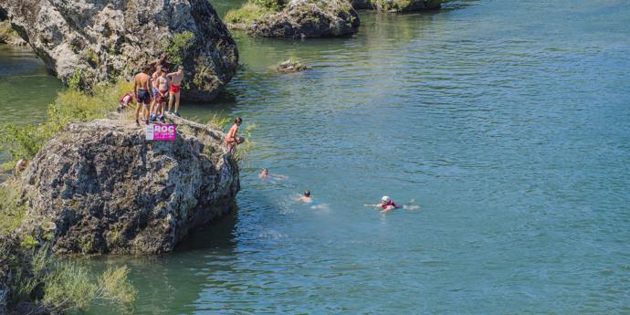 Zwemmen in de omgeving