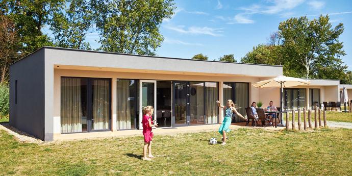Nieuwe bungalows