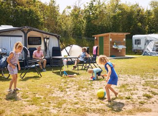 RCN Toppershoedje | Campingpitch with private facilities