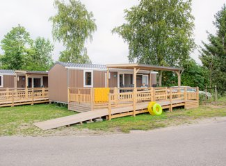 Mobile home accessible aux personnes handicapées de Zwaan