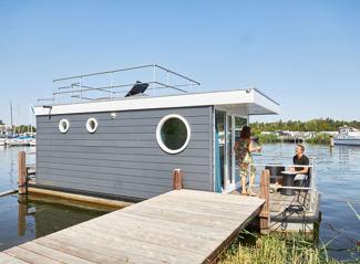 Hausboot de Meerkoet