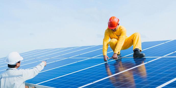 Flaasbloem bekommt Solaranlagen