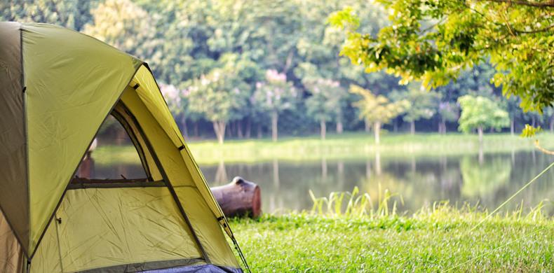 Laacher-See-kamperen