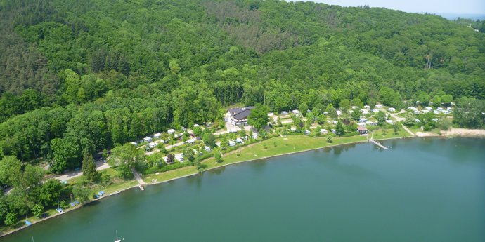 Glamping in Laacher See