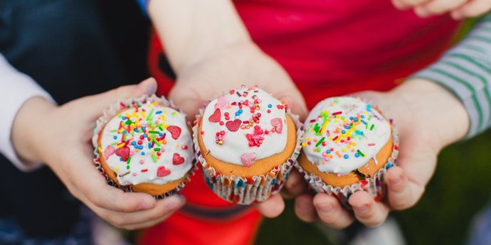 Cupcakes versieren | 30 min | € 4,- p.p.