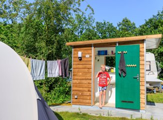 RCN Zeewolde | Comfort campingpitch with private facilities
