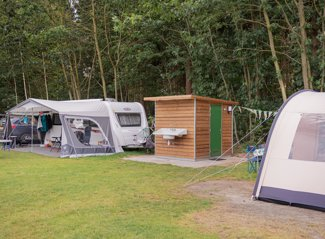RCN de Noordster | Camping pitch with private facilities