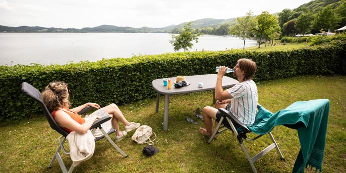 Gloednieuwe RCN camping in Duitsland